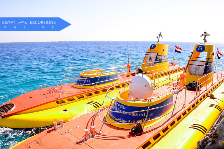 Sindbad Submarine from El Gouna