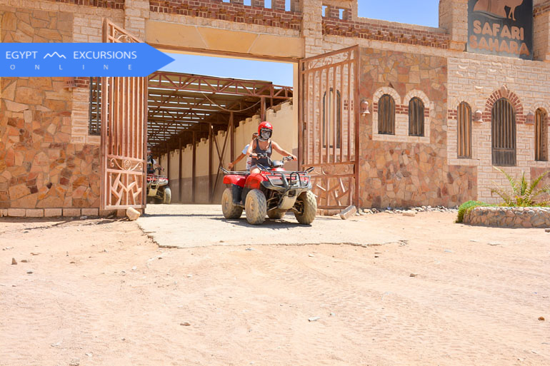 El Gouna Sunset Desert Quad Bike Safari