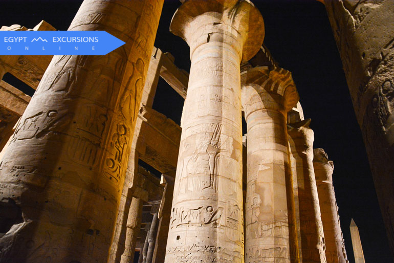 Luxor Sound and Light Show at Karnak temples