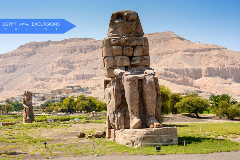 Day tour to Luxor by bus from Makadi Bay