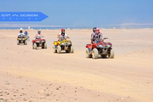 Makadi Bay Sunset Quad Bike Desert Safari
